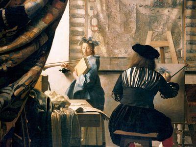 The Art of Painting, Jan Vermeer