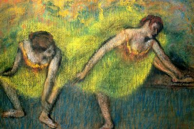 Two Dancers at Rest, Degas