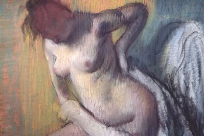 Woman Drying Herself, Degas