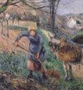 Landscape with a Donkey, Pissarro