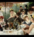 luncheon of the boating party, renoir,