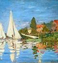 The Regatta at Argenteuil, Claude Monet