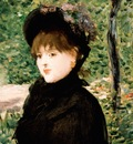 the stroll, manet,