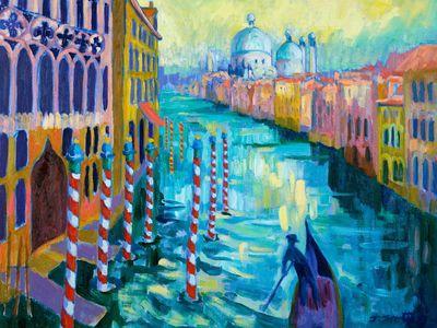 Grand Canal, Venice, Josephine Trotter