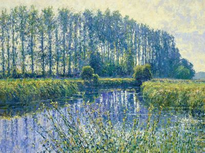 River Thames (Morning, September) Buscot, Gloucestershire Charles Neal