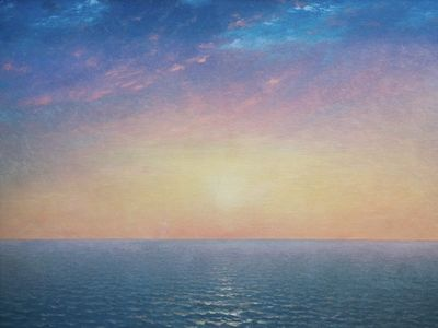 Sunrise on the Sea, John Frederick Kensett