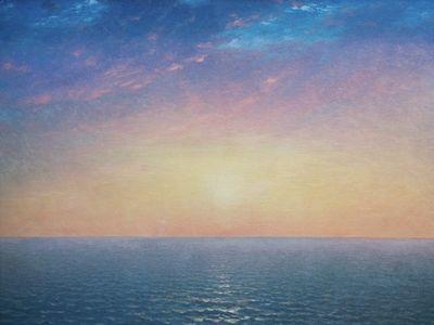 Sunrise on the Sea, John Frederick Kensett