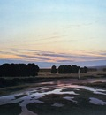 great preserve, the (ostra preserve), casper david friedrich, circa