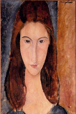 Jeanne Hebuterne, Amedeo Modigliani