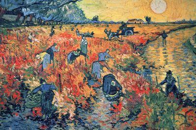 Les Vignes Rouges D Arles, Vincent van Gogh