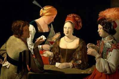 The Cheat With the Ace of Diamonds, Georges de La Tour