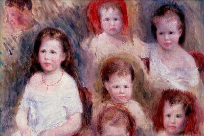 The Children, Pierre Auguste Renoir
