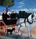 Father Junier s Dog Cart, Henri Rousseau
