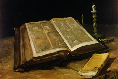 the bible, van gogh,