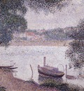 Landscape with a Boat, Seurat