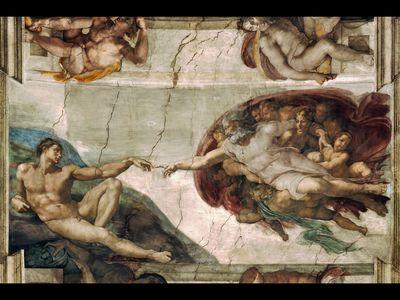 Creation of Adam, Michelangelo