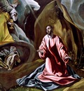 the agony in the garden, el greco, 1590