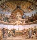 the dispute of the holy sacrament, raphael,