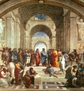 the school of athens, raphael, 1509