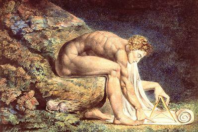 Newton, William Blake