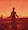 Morning Light, Caspar David Friedrich