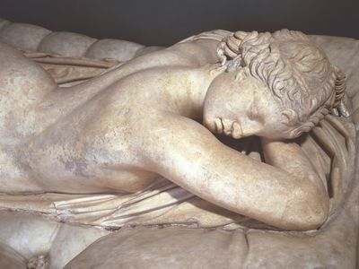 Hermaphroditus Asleep, Greek Art