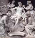Apollo Served by the Nymphs, Francois Girardon
