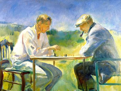 The Chess Game, Alice Kent Stoddard