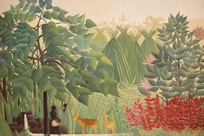 the waterfall, rousseau,
