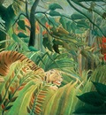 tiger in a tropical storm (surprised!), rousseau,