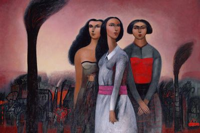 The Three Graces in Pink, Gonzalo Cienfuegos