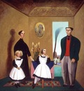 The Bellelli Family (After Degas), Gonzalo Cienfuegos