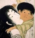Yamauba and Kintoki, Kitagawa Utamaro