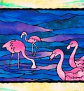 Vibrant Birds