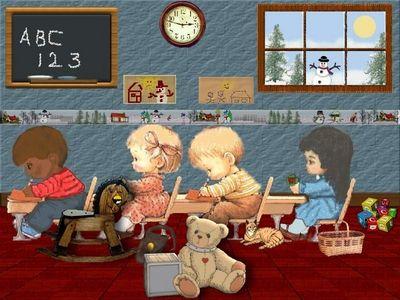 Snowy School Days