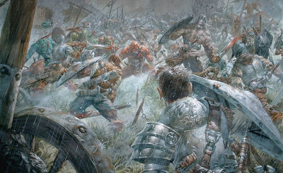 JLA battle