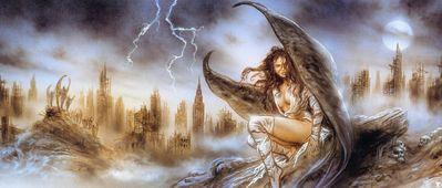 luis royo fallen angel sketch002