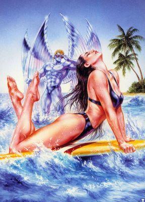 luis royo psylocke and archangel