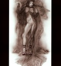 luis royo black and red