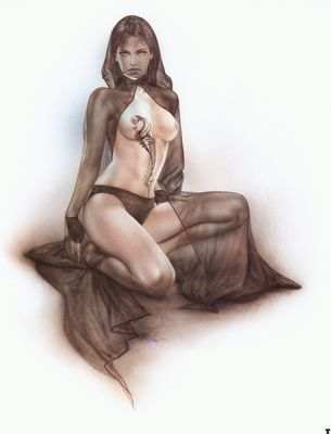 luis royo dragon I