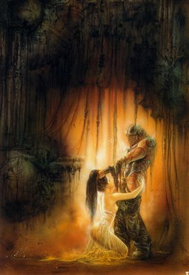 luis royo p2 dr frankensteins bride first visit to the lab