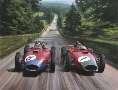 Cma 039 1957 hawthorn and collins at the nurburgring