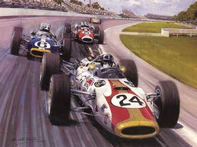 cma 066 1966 rookie graham hill wins the indy