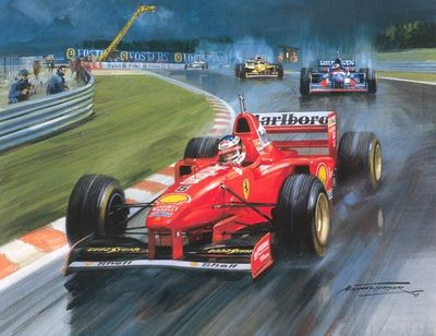 Cma 101 1997 belgian gp at a triumph for michael schumacher