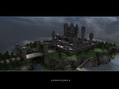 tking flight of castle