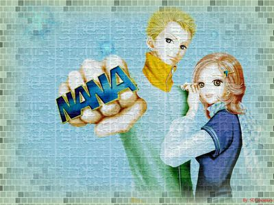 nana ring wallpaper8x6