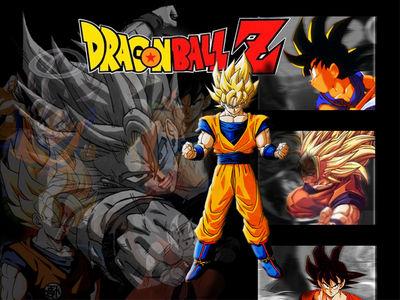 Goku 1024 X 768wallpaper
