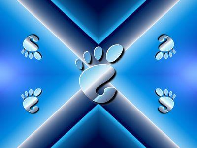 Blue Shift Foot   GNOME