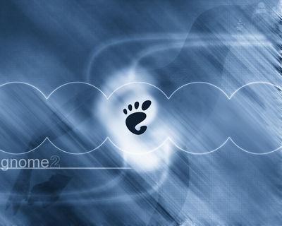 GNOME Blue Motion 1280x1024