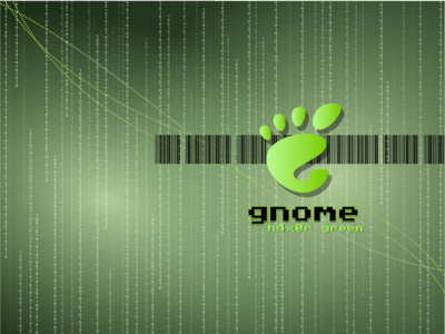 GNOME h4x0r green